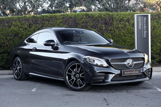 2020 Mercedes-Benz C-Class C205 800+050MY C200 9G-Tronic Graphite Grey 9 Speed Sports Automatic.