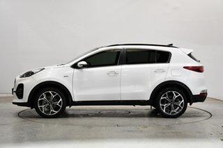2018 Kia Sportage QL MY19 GT-Line AWD White 6 Speed Sports Automatic Wagon.
