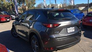 2018 Mazda CX-5 KF4WLA Touring SKYACTIV-Drive i-ACTIV AWD Grey 6 Speed Sports Automatic Wagon.