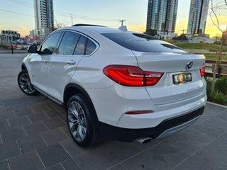 2015 BMW X4 F26 xDrive20i Coupe Steptronic White 8 Speed Automatic Wagon.