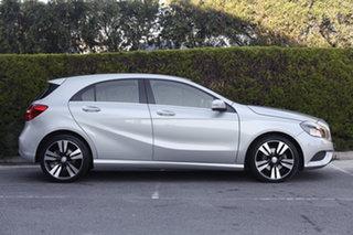 2013 Mercedes-Benz A-Class W176 A200 D-CT Polar Silver 7 Speed Sports Automatic Dual Clutch