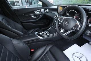 2015 Mercedes-Benz C-Class W205 806MY C250 7G-Tronic + Diamond Silver 7 Speed Sports Automatic Sedan.