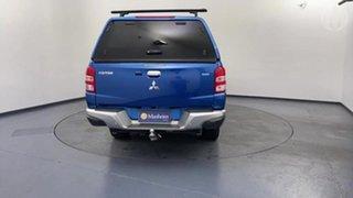 2017 Mitsubishi Triton MQ MY17 GLS (4x4) Blue 5 Speed Automatic Dual Cab Utility