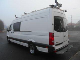 2013 Volkswagen Crafter 2EH2 MY13 50 TDI 340 LWB White 6 Speed Manual Van.