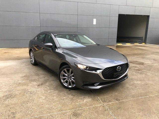 New Mazda 3 BP2S7A G20 SKYACTIV-Drive Touring Alexandria, 2021 Mazda 3 BP2S7A G20 SKYACTIV-Drive Touring Machine Grey 6 Speed Sports Automatic Sedan