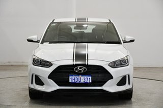 2019 Hyundai Veloster JS MY20 Coupe White 6 Speed Automatic Hatchback.