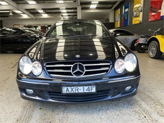 2006 Mercedes-Benz CLK-Class A209 CLK200 Kompressor Elegance Obsidian Black Automatic Cabriolet.
