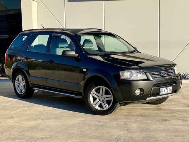 Used Ford Territory SY Ghia Templestowe, 2008 Ford Territory SY Ghia Grey 4 Speed Sports Automatic Wagon