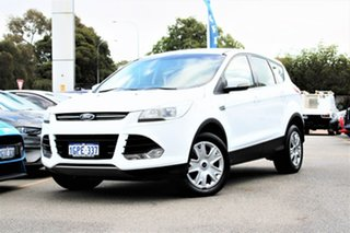 2013 Ford Kuga TF Ambiente AWD White 6 Speed Sports Automatic Wagon.