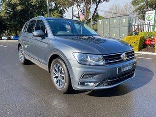 2018 Volkswagen Tiguan 5N MY18 132TSI DSG 4MOTION Comfortline Grey 7 Speed.