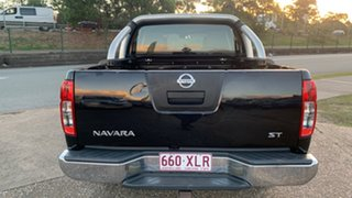 2009 Nissan Navara D40 ST-X (4x4) Black 5 Speed Automatic Dual Cab Pick-up