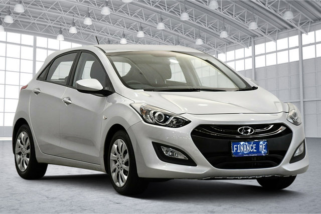 Used Hyundai i30 GD2 Active Victoria Park, 2014 Hyundai i30 GD2 Active Sleek Silver 6 Speed Sports Automatic Hatchback