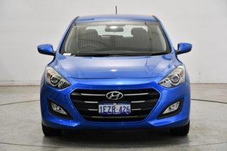 2015 Hyundai i30 GD4 Series II MY16 Active Marina Blue 6 Speed Sports Automatic Hatchback.