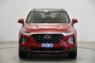 2018 Hyundai Santa Fe TM MY19 Highlander Burgundy 8 Speed Sports Automatic Wagon.