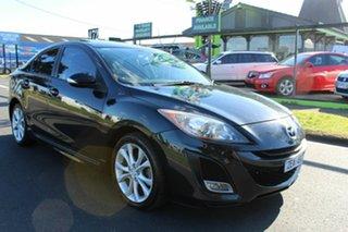 2010 Mazda 3 BL10L1 MY10 SP25 Activematic Black 5 Speed Sports Automatic Sedan.