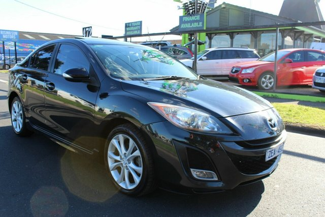 Used Mazda 3 BL10L1 MY10 SP25 Activematic West Footscray, 2010 Mazda 3 BL10L1 MY10 SP25 Activematic Black 5 Speed Sports Automatic Sedan