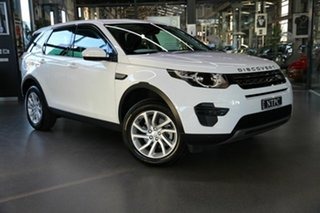 2019 Land Rover Discovery Sport L550 19MY SE White 9 Speed Sports Automatic Wagon.