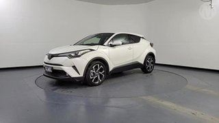 2018 Toyota C-HR NGX10R Update Koba (2WD) White Continuous Variable Wagon.