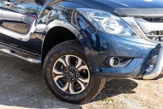 2015 Mazda BT-50 UR0YF1 XTR Deep Crystal Blue 6 Speed Sports Automatic Utility.