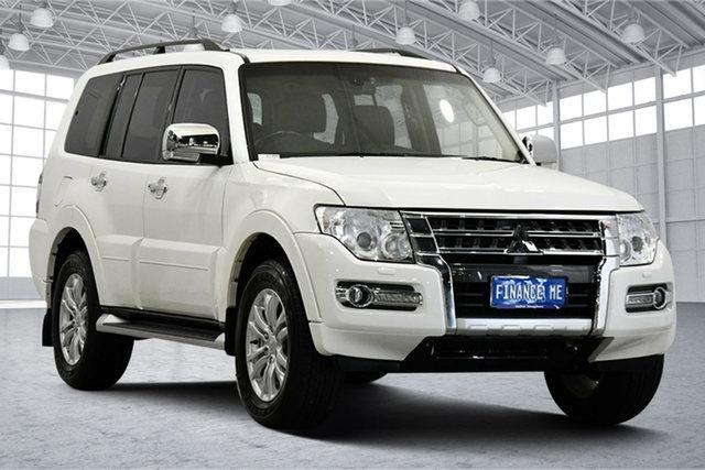 Used Mitsubishi Pajero NX MY19 GLS Victoria Park, 2019 Mitsubishi Pajero NX MY19 GLS White 5 Speed Sports Automatic Wagon