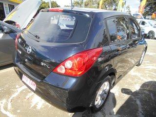 2006 Nissan Tiida C11 ST-L Black 4 Speed Automatic Hatchback