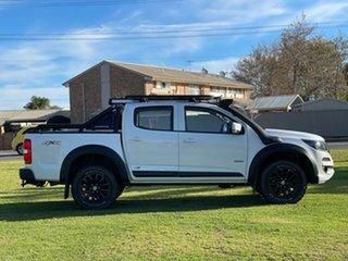 2019 Holden Colorado RG MY20 LS-X Pickup Crew Cab White 6 Speed Manual Utility