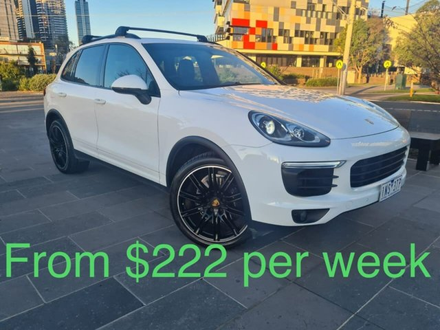 Used Porsche Cayenne 92A MY17 Diesel Tiptronic South Melbourne, 2016 Porsche Cayenne 92A MY17 Diesel Tiptronic White 8 Speed Sports Automatic Wagon