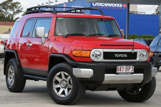 Used Toyota FJ Cruiser GSJ15R MY14 Aspley, 2014 Toyota FJ Cruiser GSJ15R MY14 Red 5 Speed Automatic Wagon