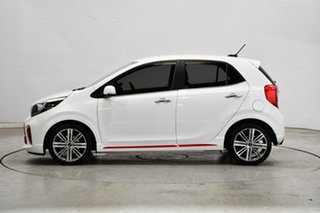 2019 Kia Picanto JA MY20 GT-Line White 4 Speed Automatic Hatchback.