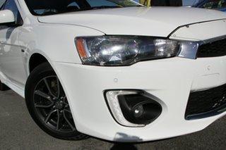 2016 Mitsubishi Lancer CF MY16 ES Sport White Solid 6 Speed Constant Variable Sedan.