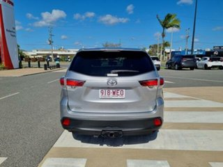 2015 Toyota Kluger GSU50R GX (4x2) Silver Sky 6 Speed Automatic Wagon.