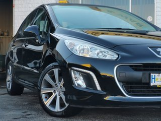 2008 Peugeot 308 T7 XS Touring Black 4 Speed Sports Automatic Wagon.