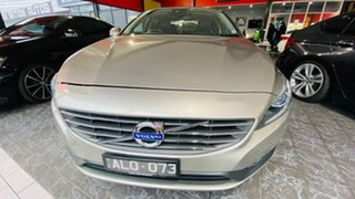 2014 Volvo S60 F Series MY14 T4 PwrShift Kinetic Bronze 6 Speed Sports Automatic Dual Clutch Sedan.