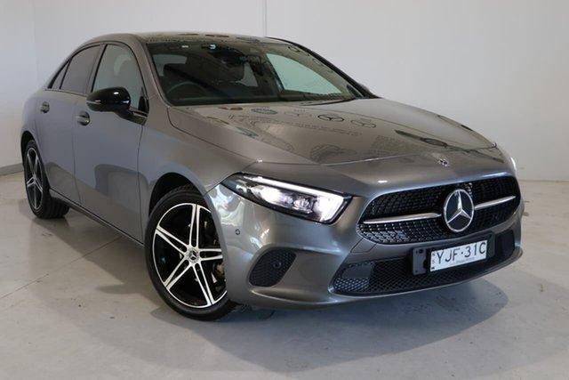 Used Mercedes-Benz A-Class V177 A200 DCT Wagga Wagga, 2019 Mercedes-Benz A-Class V177 A200 DCT Grey 7 Speed Sports Automatic Dual Clutch Sedan