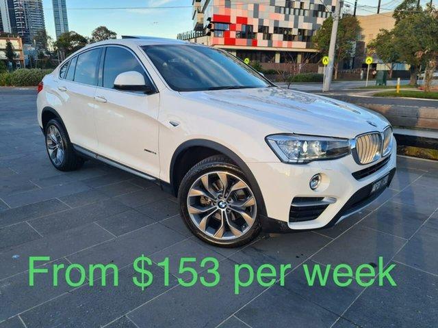 Used BMW X4 F26 xDrive20i Coupe Steptronic South Melbourne, 2015 BMW X4 F26 xDrive20i Coupe Steptronic White 8 Speed Automatic Wagon