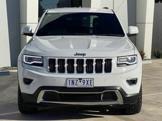 2014 Jeep Grand Cherokee WK MY2014 Limited White 8 Speed Sports Automatic Wagon.