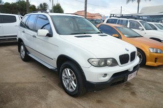2006 BMW X5 E53 3.0D White 6 Speed Automatic Wagon.