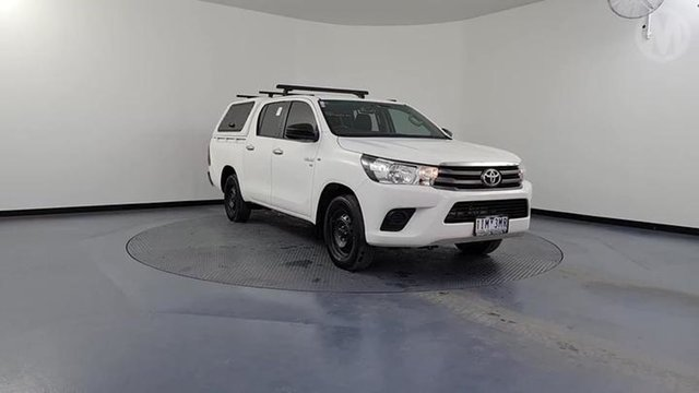 Used Toyota Hilux GGN120R SR Altona North, 2016 Toyota Hilux GGN120R SR White 6 Speed Automatic Dual Cab Utility