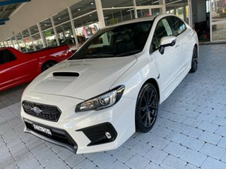 2019 Subaru WRX Premium White Manual Sedan.