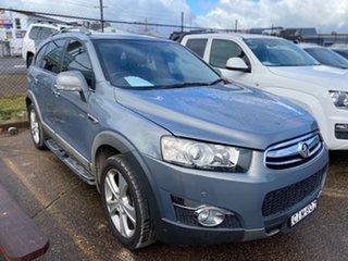 2012 Holden Captiva CG Series II MY12 7 AWD LX Grey 6 Speed Sports Automatic Wagon.