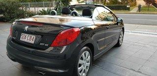 2007 Peugeot 207 CC 1.6 Black 4 Speed Automatic Cabriolet