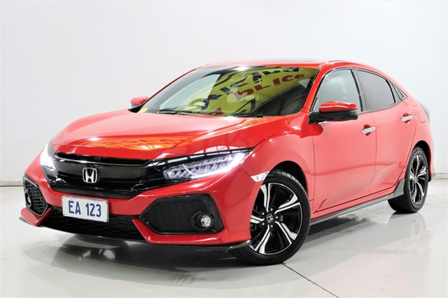 Used Honda Civic 10th Gen MY17 RS Brooklyn, 2017 Honda Civic 10th Gen MY17 RS Red 1 Speed Constant Variable Hatchback