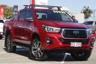 2020 Toyota Hilux GUN126R SR5 Double Cab Olympia Red 6 Speed Sports Automatic Utility.