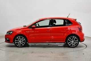 2016 Volkswagen Polo 6R MY17 GTI DSG Red 7 Speed Sports Automatic Dual Clutch Hatchback.