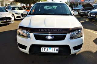 2010 Ford Territory SY MkII TX White 4 Speed Sports Automatic Wagon