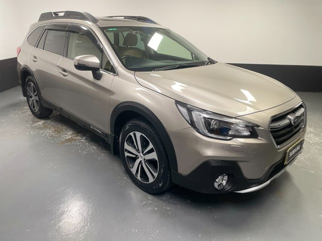 Used Subaru Outback B6A MY18 2.0D CVT AWD Premium Hamilton, 2018 Subaru Outback B6A MY18 2.0D CVT AWD Premium Light Gold 7 Speed Constant Variable Wagon
