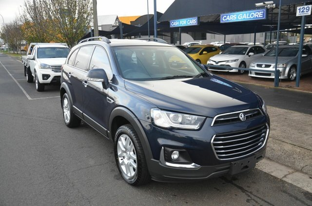 Used Holden Captiva CG MY18 Active 7 Seater (5Yr) Toowoomba, 2018 Holden Captiva CG MY18 Active 7 Seater (5Yr) Blue 6 Speed Automatic Wagon