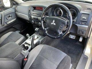 2008 Mitsubishi Pajero NS VR-X Beige 5 Speed Sports Automatic Wagon