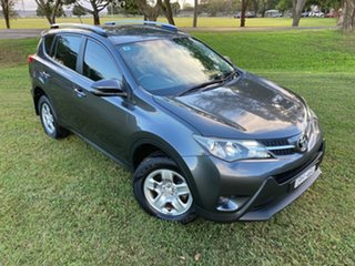 2014 Toyota RAV4 ZSA42R MY14 Upgrade GX (2WD) Graphite Continuous Variable Wagon.