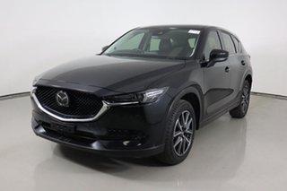 2017 Mazda CX-5 MY17 Akera (4x4) Black 6 Speed Automatic Wagon.